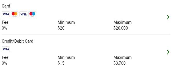 Unibet deposit options Arizona